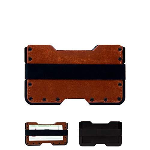 Tarjetero metalico con Bloqueo RFID para Hombre y...