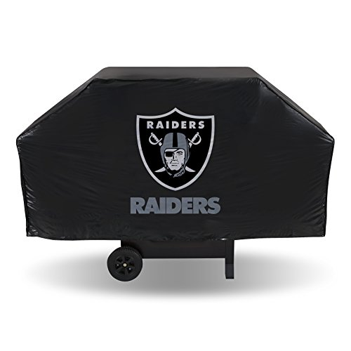 NFL Grillabdeckung aus Vinyl, Oakland Raiders, 68-inches Wide x 21-inches Deep x 35-inches High