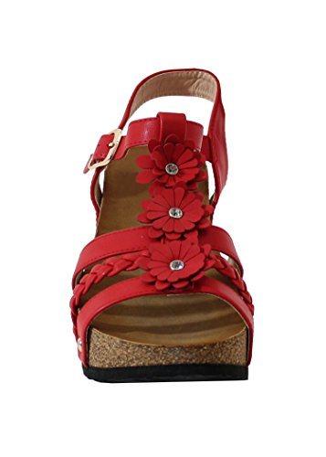 By Shoes - Zoccoli ou sabot Donna Red