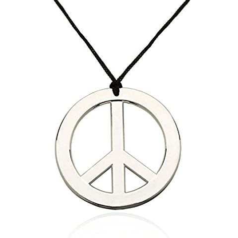 Adultes Disney Costumes - German Trendseller® collier avec pendentif peace┃Flower Power┃baba