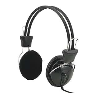 écouteurs - Headphones - Komc KM808-A Headphone with Mic Black