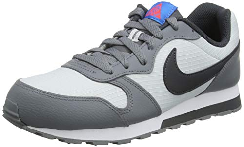 Nike MD Runner 2 (GS), Scarpe da Running Bambini e Ragazzi, Grigio (Pure Platinum/Anthracite/Cool Grey 015), 39 EU