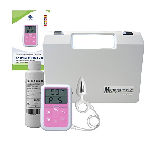 Electroestimulador anal suelo pélvico - Sonda rectal
