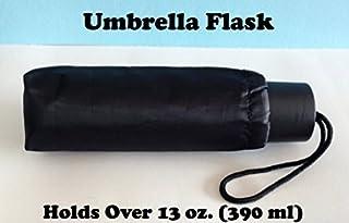 Binocktails Bev-Brella Secret Umbrella Flachmann in Regenschirm-Form, 390 ml (390ml)–Großer Regenschirm-Flachmann