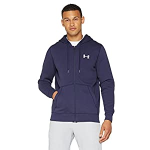 Under Armour Herren Rival Ausgestattet Full Zip Oberteil