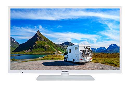 Telefunken XH24E401V-W 61 cm (24 Zoll) Fernseher (HD ready, Smart TV, Triple Tuner) weiß