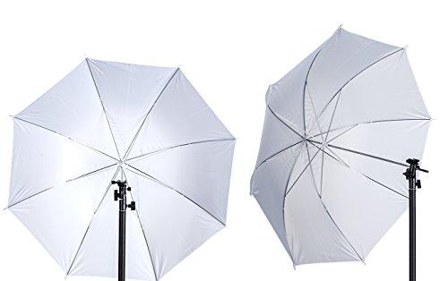 Ombrello bianco diffusore morbido centimetri pollici