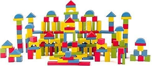 Bonne année, achat de recettes, cadeaux Woodyland 102191869 Blocks- Nature Couleur, Multicolore   La Mode De