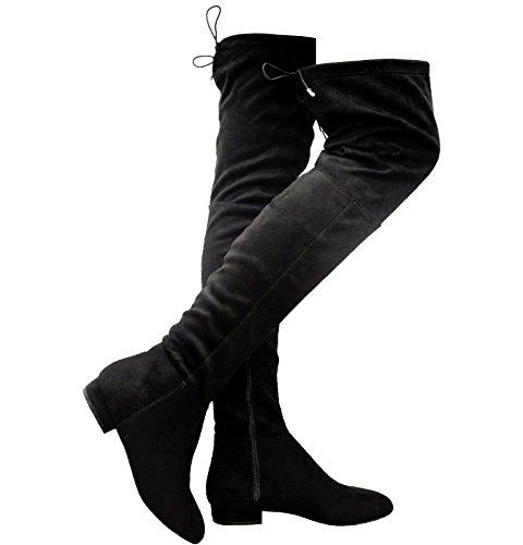Generic , Bottes cuissardes femme Noir