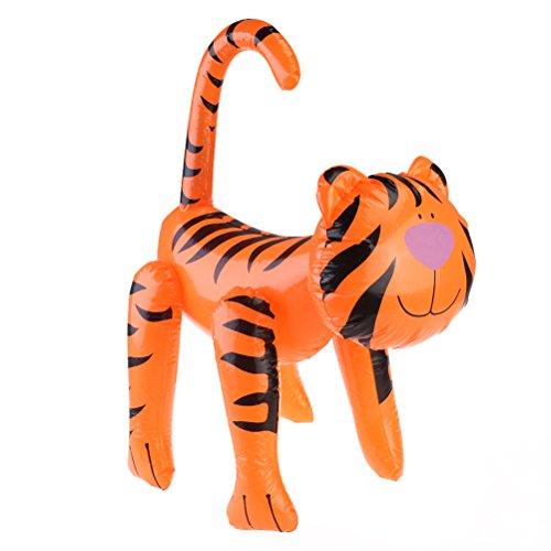 Spielzeug Tiger Blow-Up Tiere Party Deko Spielzeug (Blow Up Tiere)