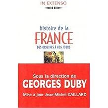 HISTOIRE DE LA FRANCE. : Des origines à nos jours