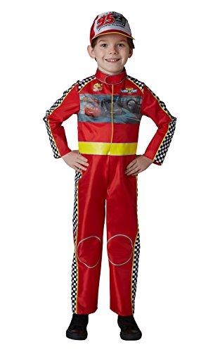 Cars Kostüm Kinder - Cars 3-McQueen Deluxe Kostüm Kinder (Rubie 's Spain) L