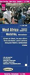 Reise Know-How Landkarte Westafrika, Küstenländer (1:2.200.000) : von Senegal bis Nigeria: reiß- und wasserfest (world mapping project)