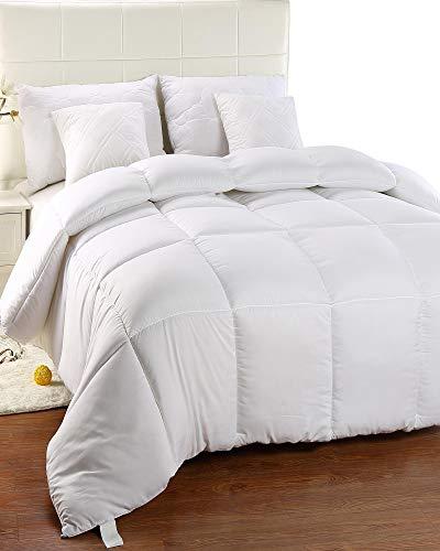 Utopia Bedding Chaude Couette, Couette en Microfibre, hypoallergénique - (Blanc 135 x 200 cm)