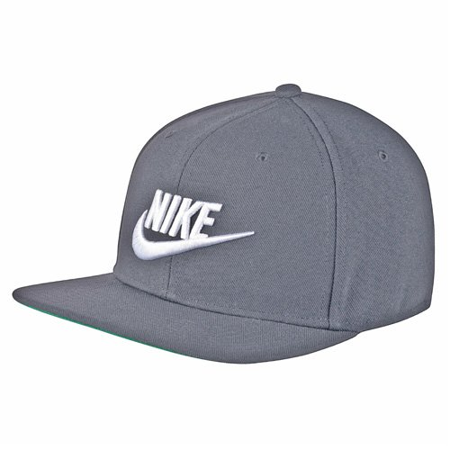 Nike Sportswear Futura Pro Kappe Cool Grey/Pine Green/Black/(White), One Size