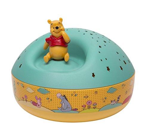 Trousselier - Winnie l'Ourson - Disney - Veilleuse - Projecteur d'Etoiles Musical - Piles inclues