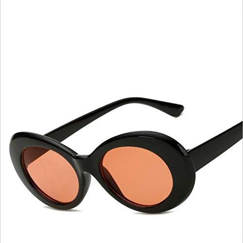 CCMOO Retro Intage Oval Runde Sonnenbrille Männer Frauen Alien Sunglasses-1