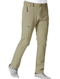 f140b361c13 Bitriddis Men s Outdoor Quick Dry Cargo Pants Convertible Hiking Camping  Fishing Zip Off Stretch Trousers 1