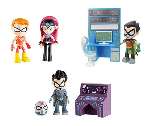 teen-titans-go-275-figures-bundle-set-starfire-with-speedy-red-x-with-accessory-and-robin-with-acces