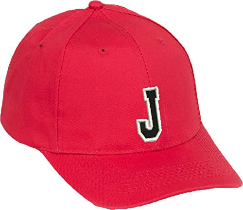 d08abef1c57a9 4sold Casual Cotton Baseball Cap Alphabet A-Z Red Caps Black Letter Snap  Back Hat Hats Snapback