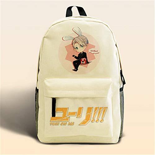 Kostüm De Homme Dos - HNdrcc Natsume Freund Rucksack Tasche Anime Zwei Yuan Umhängetasche Katze Lehrer Rucksack Student Leinwand Taschen/Natsume Freunde-H eine Größe