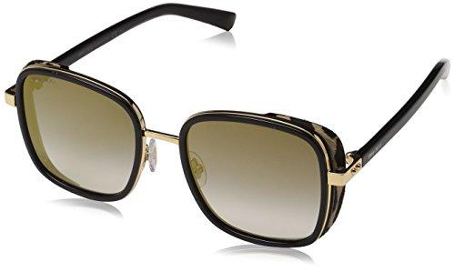 Jimmy Choo Damen ELVA/S FQ FP3 54 Sonnenbrille, Schwarz (Bkgd Bk Leopard Grey)