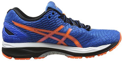 Asics Herren Gel-Nimbus 18 Laufschuhe Blau (Electric Blue/Hot Orange/Schwarz)