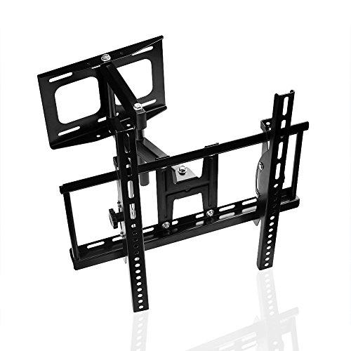 Tilt-swivel Stand (SIENOC 400 * 400mm Universal Tabletop TV Stand / Base Fixed Tilt Swivel Wandhalterung für 26-55inch TV-Wandständer)