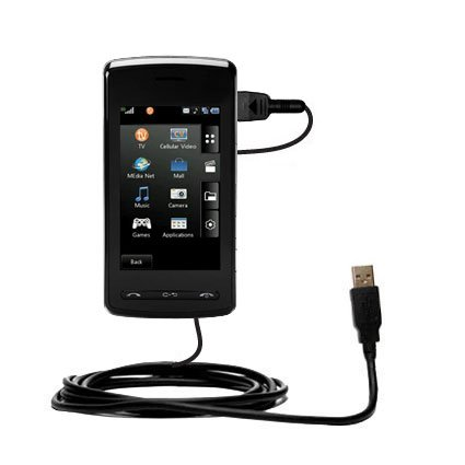 Klassisches Direkt-USB-Kabel für LG CU920 mit Power Hot-Sync und Ladekapazitäten Verwendet die TipExchange Technologie