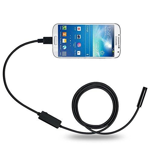 Preisvergleich Produktbild DBPOWER 8.5MM 5M 2MP Handy-Endoskop für Android-System mit OTG und UVC-Funktion & Kompatibel mit Laptop (USB-Adapter inbegriffen)
