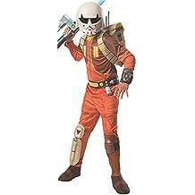 Esdras Bridger - Deluxe - Star Wars rebeldes - Childrens Disfraz - Medium - 132cm