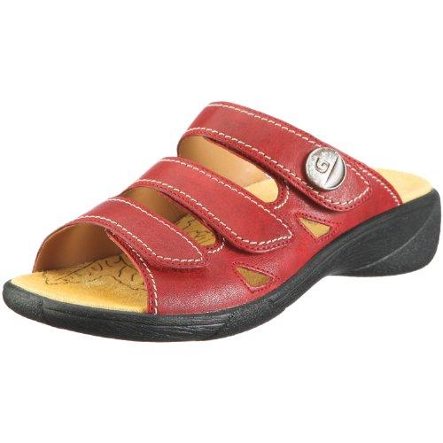 Ganter Hera Weite H 1-205827-2000, Chaussures femme Rouge-TR-AP