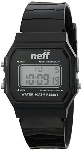 NEFF Herren Accessoires / Uhr Flava XL Surf schwarz Einheitsgröße (Surf-uhr-digital)