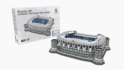 REAL MADRID- Estadio Santiago Bernabéu Standard (34451), Multicolor (KICK OFF GAMES 1)
