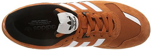 adidas Zx 700, Chaussures de Sport Homme Multicolore (Foxred /White / Grey )