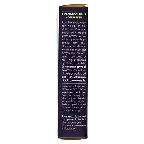4165OVdbSgL - Equilibra Integratore Alimentare di Melatonina con Griffonia - 60 Compresse