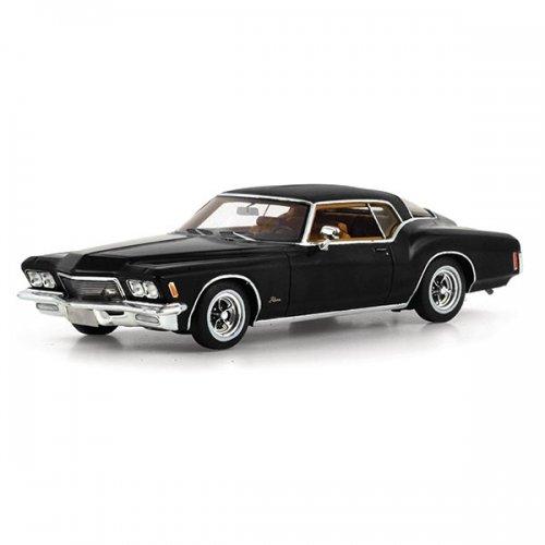 buick-riviera-143-1971-modellini-di-automezzi-regal-nero