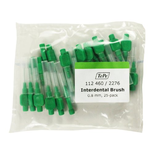 TePe Interdentalbuerste 0,8mm grün, 25 St