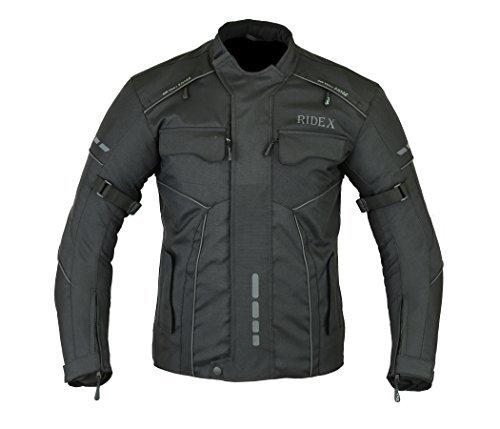 RIDEX para Hombre CJ3 Chaqueta Impermeable y Resistente al Viento para Moto Motocicletas/Agua para ejercitar la fassinas por de Mesa con