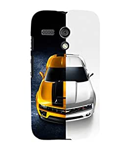 EPICCASE Chev bumblebee Mobile Back Case Cover For Moto G (Designer Case)