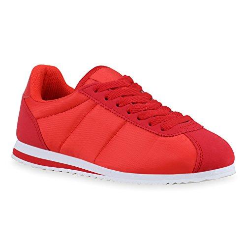 Mulheres Óptica De Couro Sapatos De Homens De Esportes Executando Calça As Sapatilhas Acolchoado Vermelho