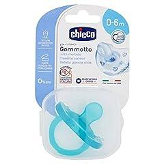 Idea Regalo - Chicco 00073011210000 Gommotto in Silicone per Bimbo, 0-6 Mesi, Colori Assortiti