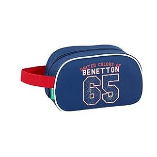 Benetton UCB Boy Oficial Mochila Escolar Infantil Mediano con Asa 260x120x150mm
