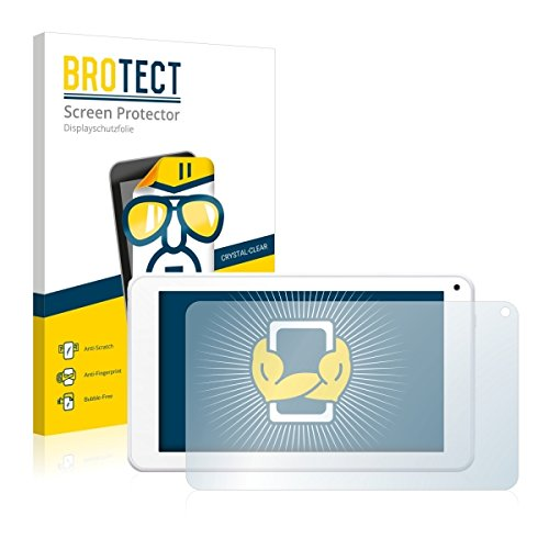 2X BROTECT HD Clear Displayschutz Schutzfolie für BigBen Unity Tab 7 (kristallklar, extrem Kratzfest, schmutzabweisend)