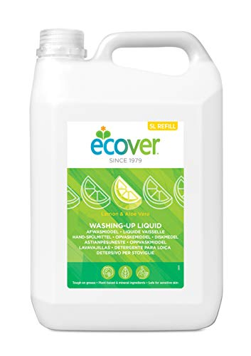 Ecover 4003317 - Detergente liquido lavavajillas limón