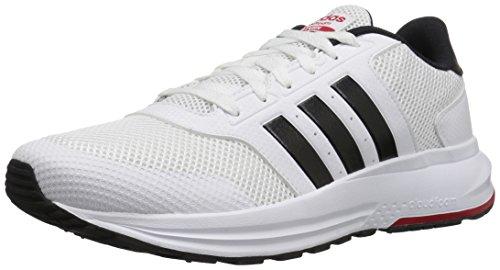 Adidas Cloudfoam Saturn Hombre US 7.5 Blanco Zapato para Correr
