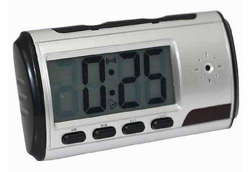 Cámara espía oculta CCTV CAM reloj despertador digital