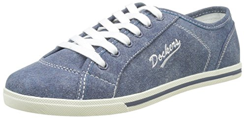 Dockers by Gerli Damen 27CH221-610 Sneakers, Blau (Blau 600), 39 EU