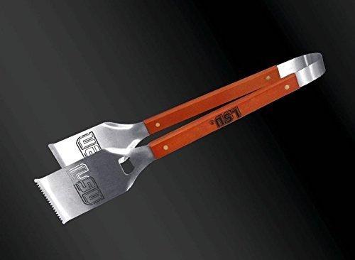 Sportula 45,7cm Edelstahl grill-a-tongs, LSU Tigers Block -