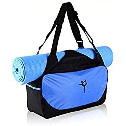 Bolsa Unisex para Esterilla de Yoga, Esterilla de Yoga, Bolsa de Deporte para el Hombro, Impermeable para Pilates, Funda para Mochila, 3